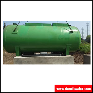 Mobile integrated sewage treatment equipment
